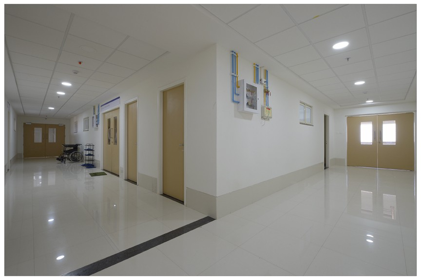 Infection controlled SICU, ICU floor at Cancer Hospital, Innovative Design by Epro, Pune